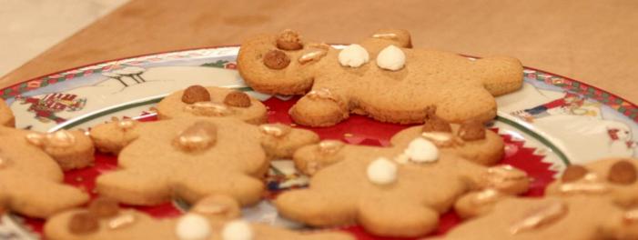 Menu Di Natale Di Benedetta Parodi.Ricette Menu Dolci Di Natale Omini Di Zenzero Video