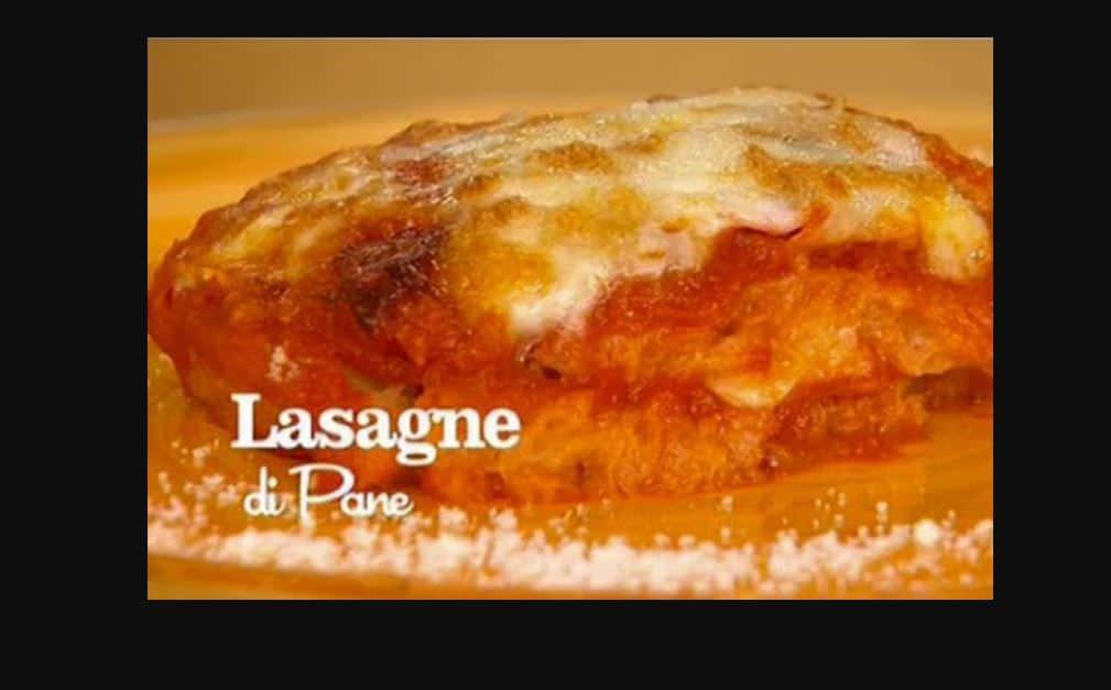 Lasagne di pane, ricette de I menù di Benedetta (video)