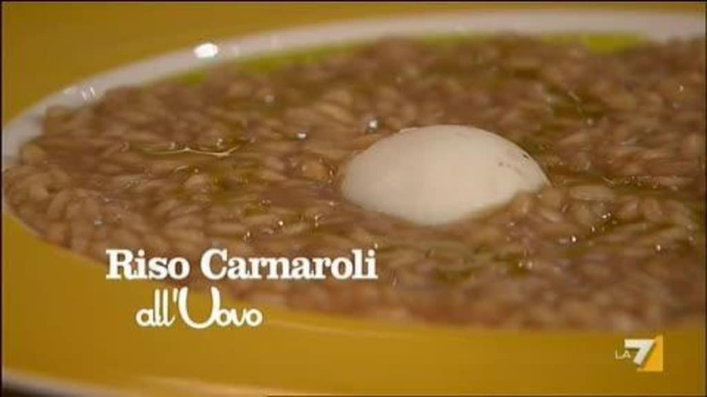 Benedetta Parodi, nuove ricette: risotto carnaroli all'uovo (video)