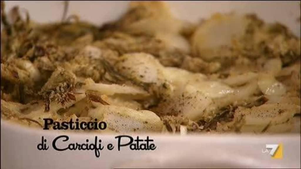 Pasticcio di carciofi e patate, ricetta di Benedetta Parodi (video)