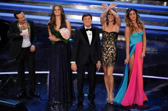 Sanremo 2012 gli abiti della seconda serata: da Belen a Emma
