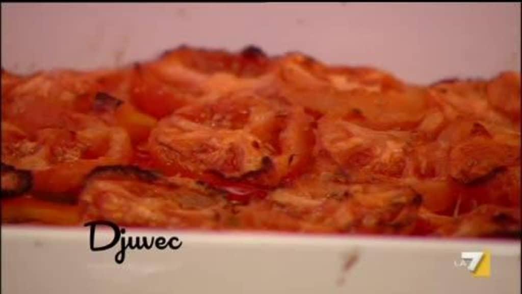 Djuvec, la ricetta di Benedetta e Barbara de Rossi (video)