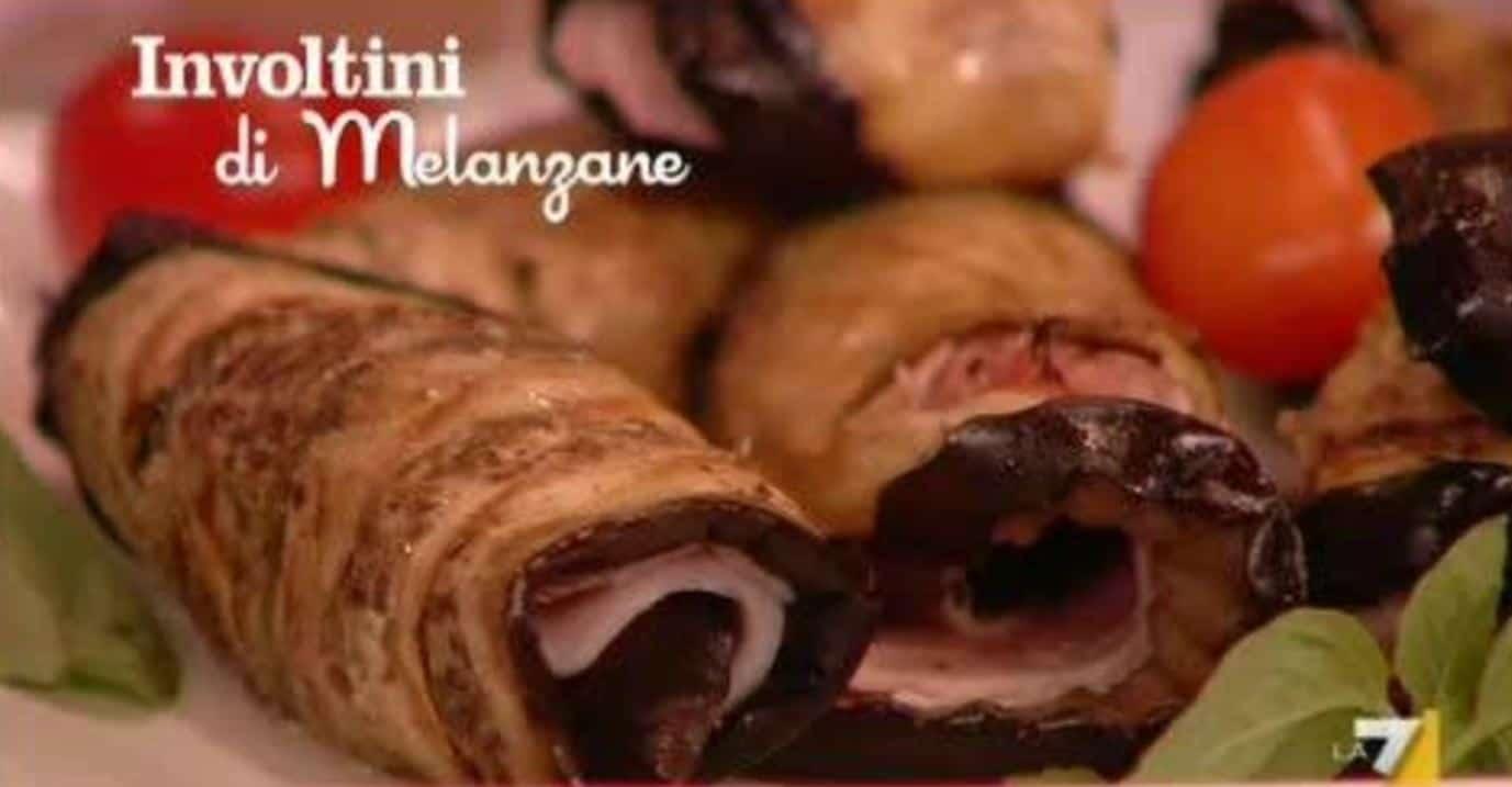 L'apericetta di Benedetta: involtini di melanzane (video)