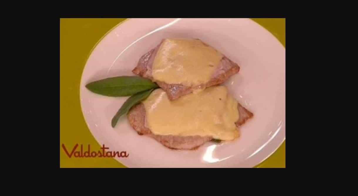 Valdostana, la ricetta veloce del menù ultimi freddi di Benedetta (video)