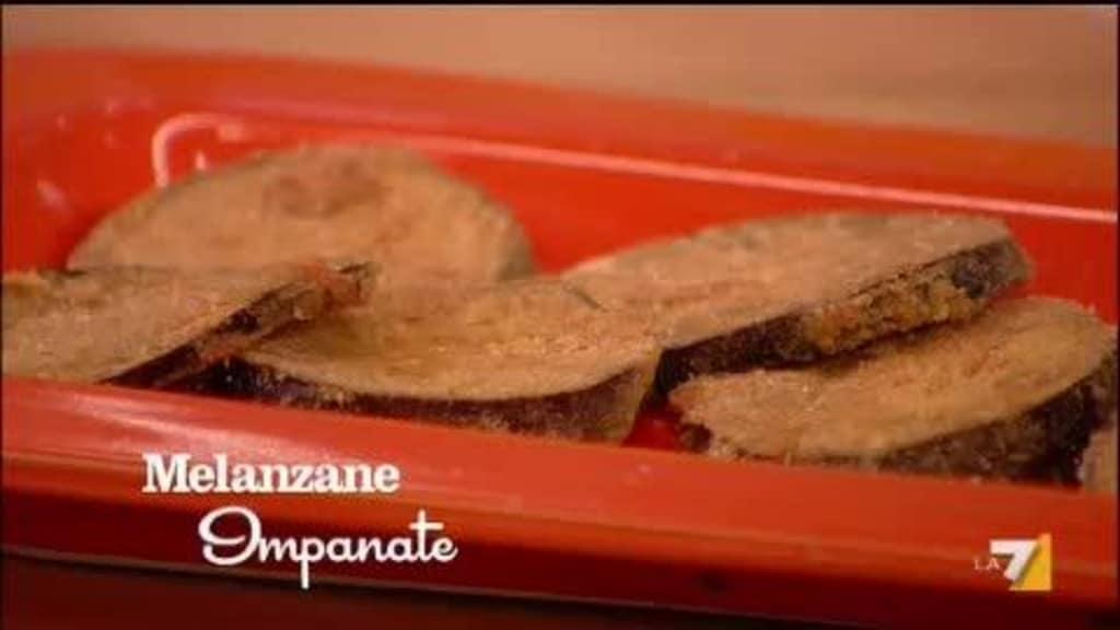 L'apericetta di Benedetta: melanzane impanate (video)