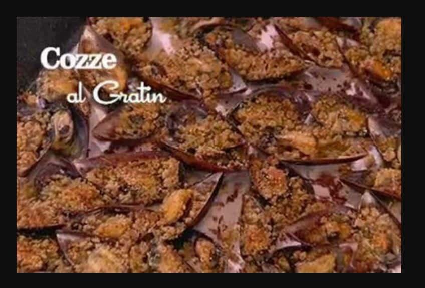 Cozze al gratin, l'apericetta di Benedetta Parodi (video)
