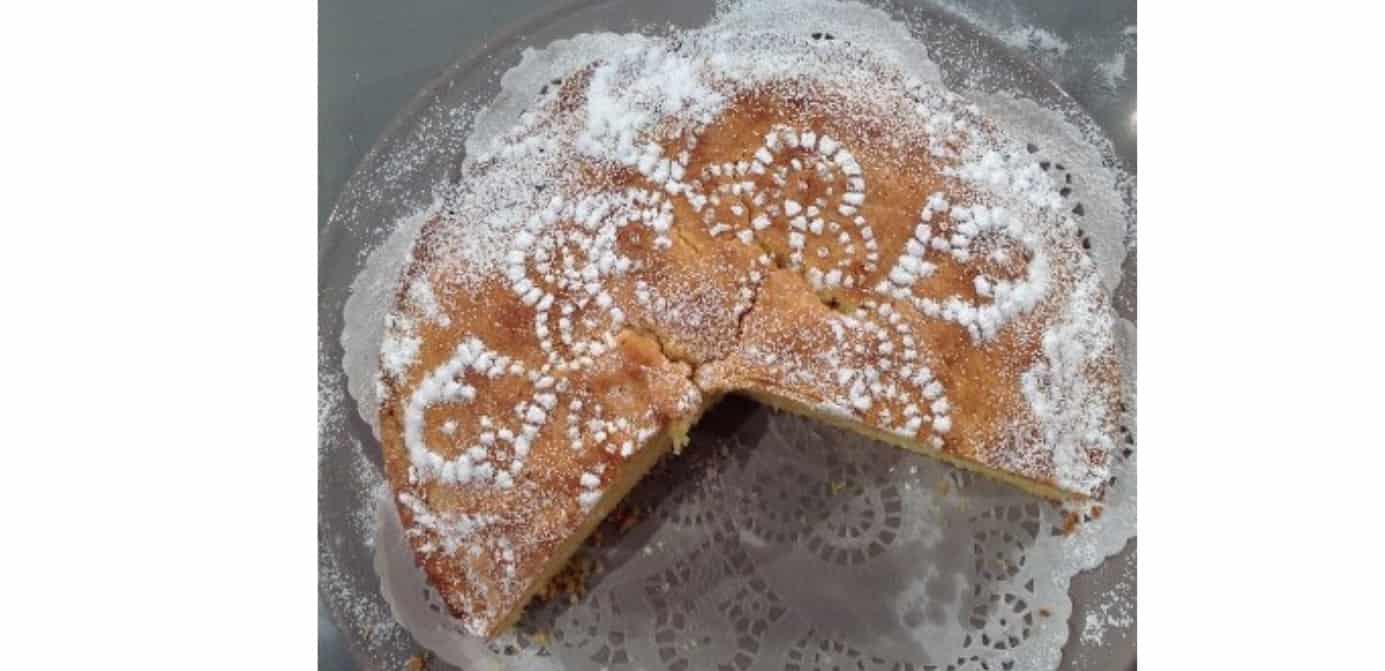 La torta paradiso, il dolce goloso di oggi di Anna Moroni