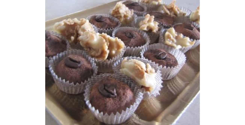 Ricette dolci senza glutine: bacetti al cioccolato e caffè