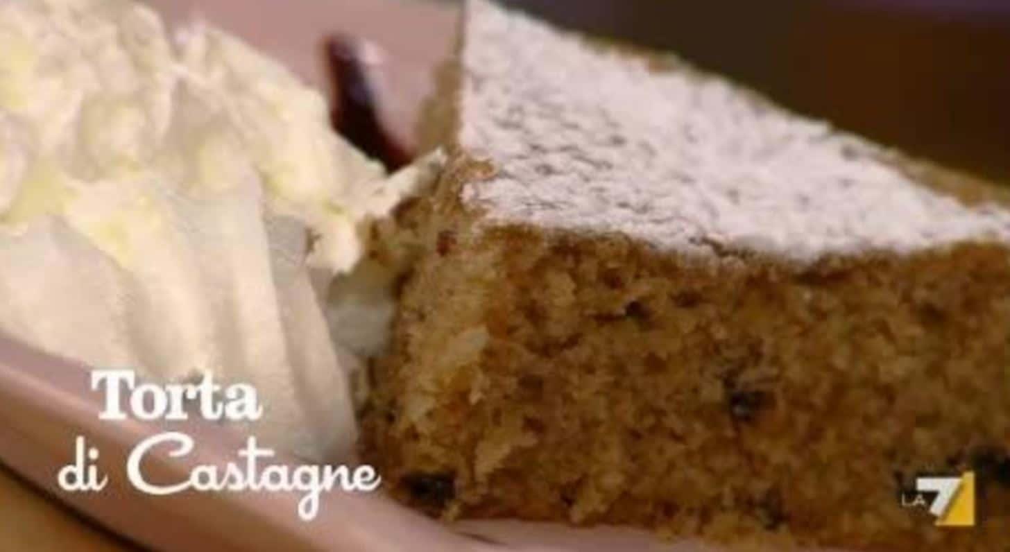 La ricetta della torta di castagne de I menù di Benedetta (video)