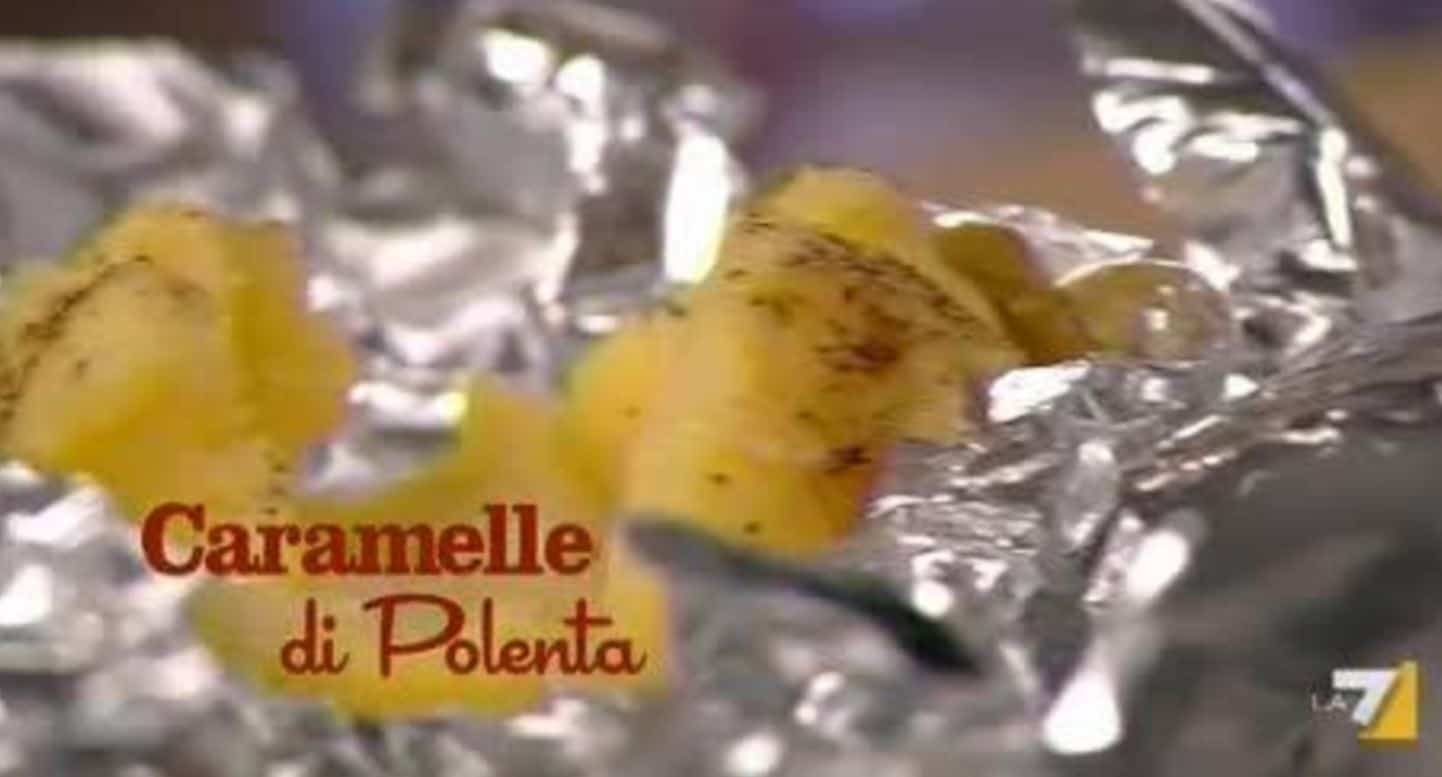 Benedetta Parodi prepara le caramelle di polenta (video)