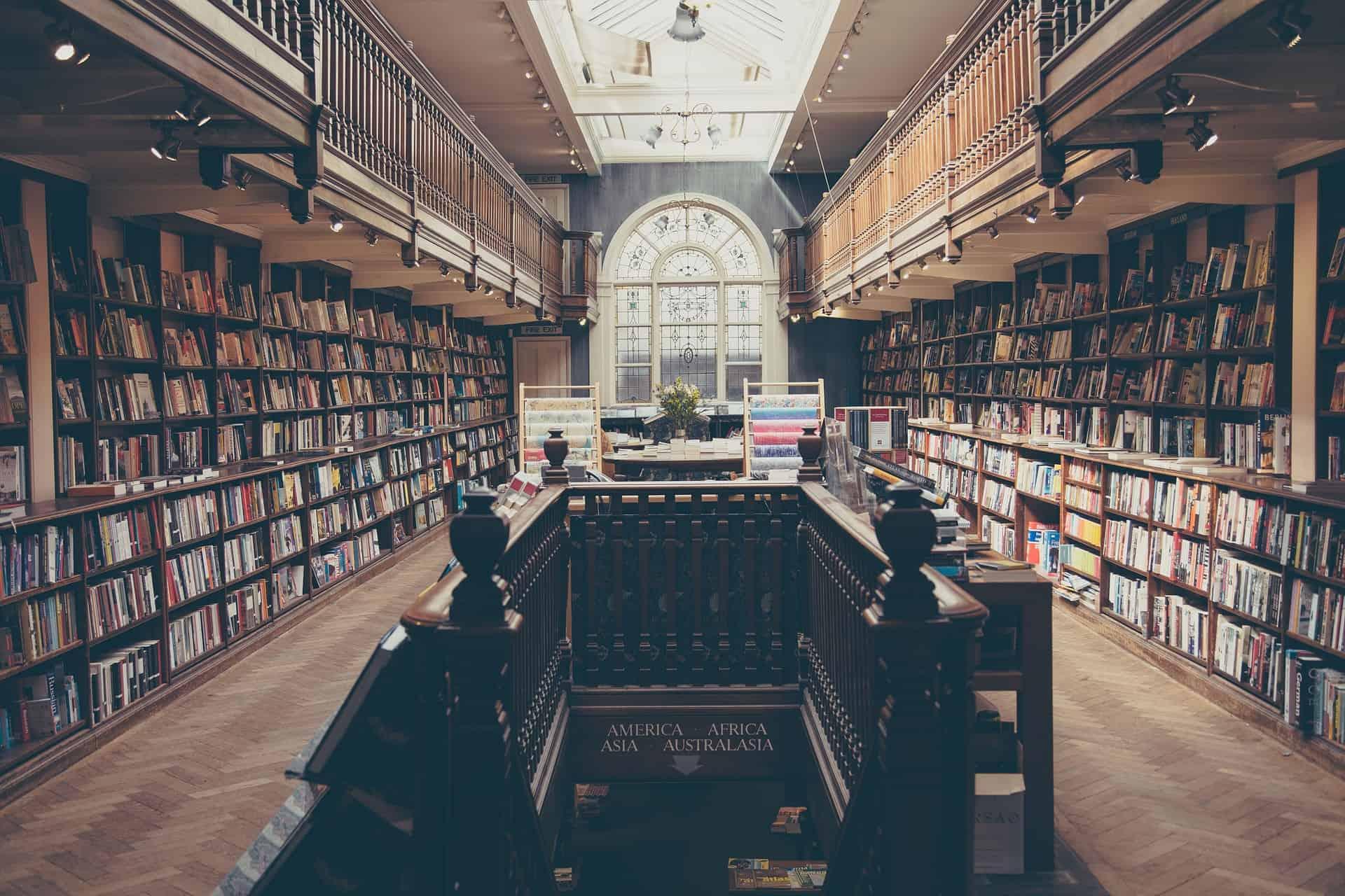 La biblioteca: luogo idela per rimorchiare