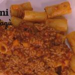 Rigatoni al ragù, la ricetta di Benedetta Parodi e Anna Tatangelo (video)