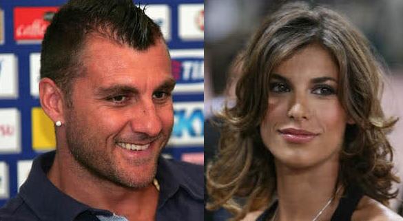 Bobo Vieri dichiara il suo amore per Elisabetta Canalis (foto)