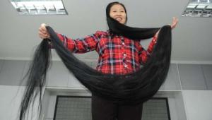 Ni Linmei, donna cinese con i capelli da record: quasi 3 ...