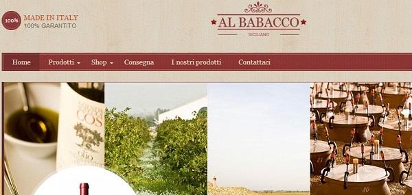 brand new bbca7 91f70 Al Babacco Siciliano, il sito per comprare vini siciliani ...