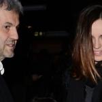 Kasia Smutniak e Domenico Procacci al cinema con la piccola Sophie (FOTO)