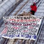 Protesta sul Cupolone: l'imprenditore triestino ha passato la notte sulla Basilica di San Pietro