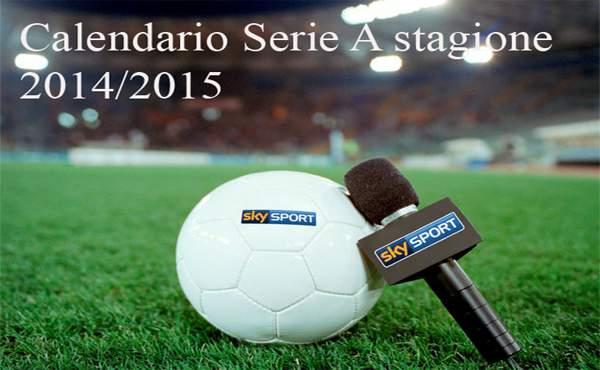 Calendario Serie A Dove Vederlo.Calendario Serie A 2014 2015 Orari Del Sorteggio E Dove