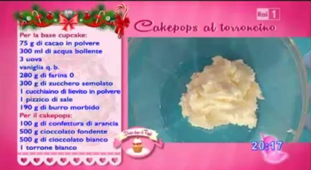 INGREDIENTI CAKE POPS