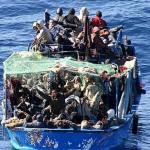 gommone Lampedusa
