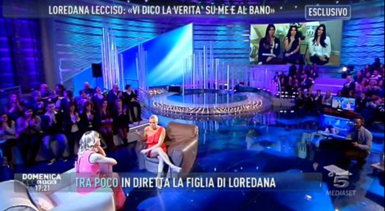 loredana domenica live