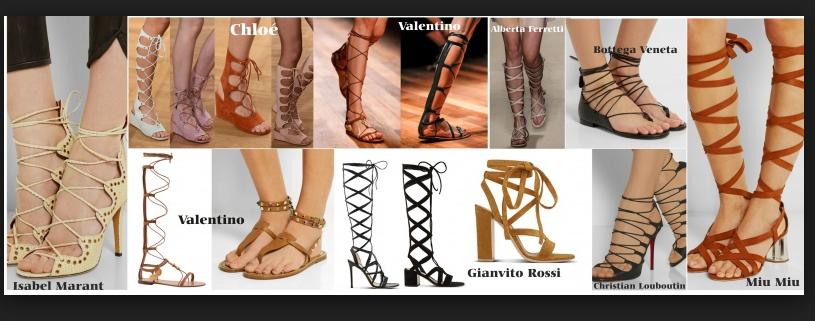 buy popular 1128d ea31f Scarpe primavera estate 2015: tornano di moda i sandali alla ...