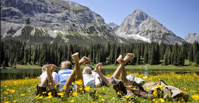 Vacanza in montagna, fa bene al corpo e alla mente..