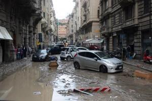 esondazione Genova