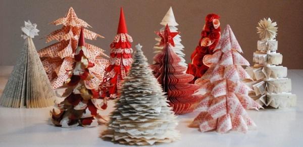 Alberi Di Natale Di Carta.Come Realizzare Un Originale Albero Di Natale Di Carta Fai Da Te Foto Ultime Notizie Flash