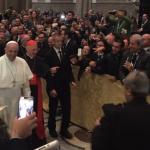 Papa Francesco a Firenze per il convegno ecclesiale: uscite da voi stessi con umiltà (Foto)