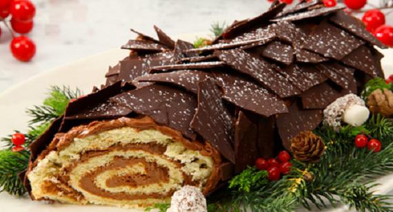 Tronchetto Di Natale Ricetta.La Ricetta Del Tronchetto Di Natale La Piu Facile Ultime Notizie