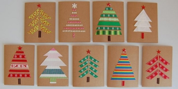 Biglietti Di Natale Fai Da Te.Natale 2015 Tante Idee Originali Per I Biglietti Di Auguri