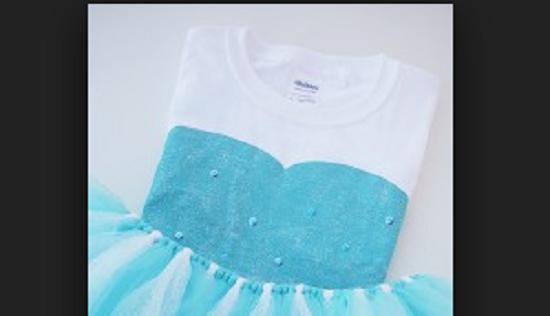 audacia Assunzione Sudore  Il vestito di Elsa di Frozen da realizzare fai da te, senza ago e filo  semplice e di ghiaccio | Ultime Notizie Flash