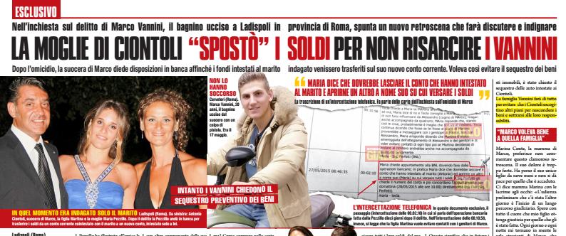 Caso Marco Vannini ultime notizie: la moglie di Ciontoli ...