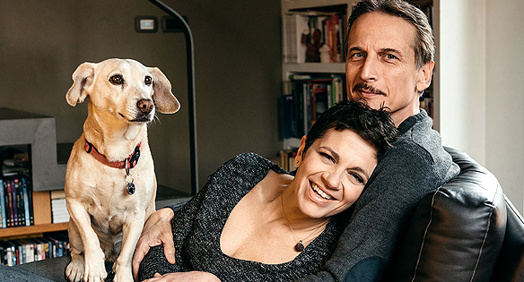 Cesare Bocci e Daniela Spada raccontano della loro vita dopo l'ictus post parto
