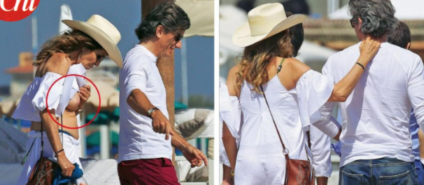 Daniela Santanché finisce in topless accanto al suo nuovo compagno (FOTO)
