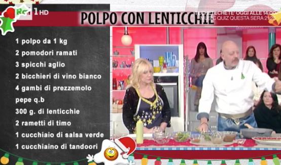 polpo lenticchie