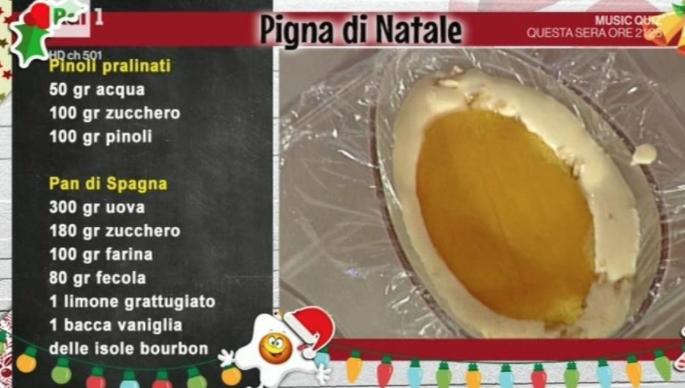 Ricette Sal De Riso, la pigna dolce da La prova del cuoco