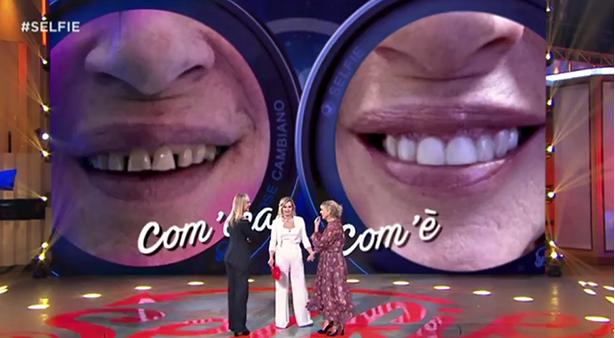 Gemma Galgani grazie a Selfie si è rifatta i denti ed è felice (Foto)