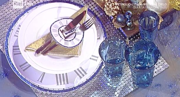 La prova del cuoco, Capodanno a tavola con l'azzurro (Foto)