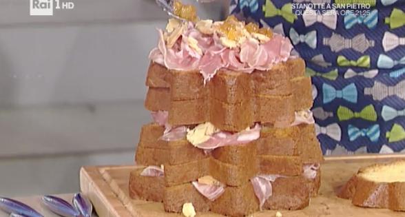 Pandoro gastronomico La prova del cuoco, ricetta di Daniele Reponi