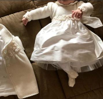 Il battesimo di Sofia Matri, la figlia di Federica Nargi e Alessandro (Foto)