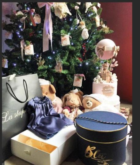 Sotto l'albero di Natale dei vip i regali più belli (Foto)