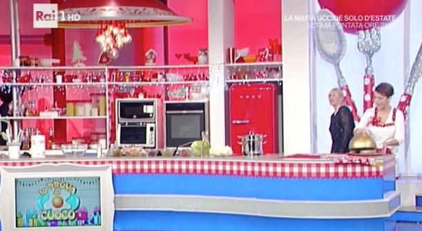 Antonella Clerici, orrore in cucina a La prova del cuoco (Foto)