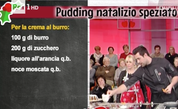 Pudding natalizio speziato, la ricetta dolce di Valbuzzi per Natale