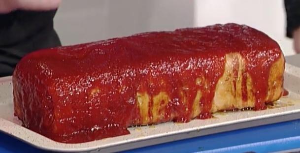 La ricetta del polpettone di tacchino glassato di Hiro Shoda La prova del cuoco