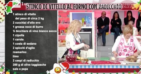 La ricetta stinco di vitello al forno di Anna Moroni La prova del cuoco