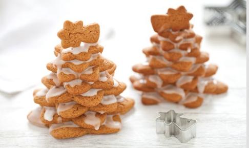 Ricette di Natale, l'albero di Natale in pan di zenzero