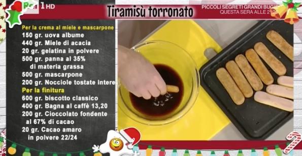 La ricetta del tiramisù torronato di Luca Montersino La prova del cuoco