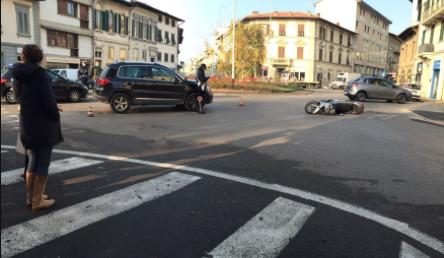 Agnese Renzi coinvolta in un incidente stradale a Firenze